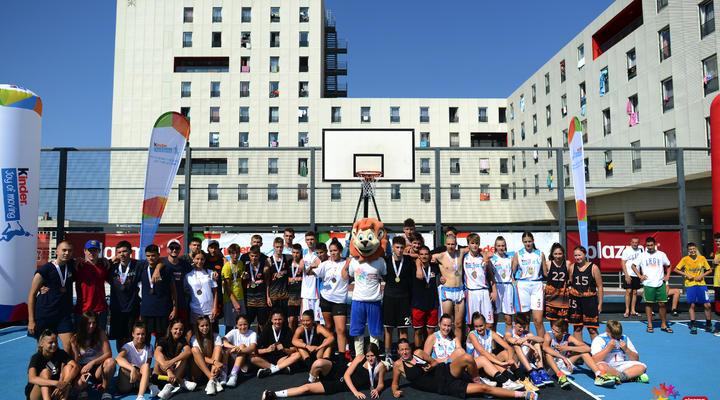 Državna završnica Kinder turnira u košarci