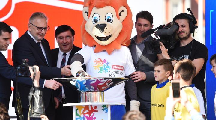 Svečano otvorene 23. Plazma Sportske igre mladih