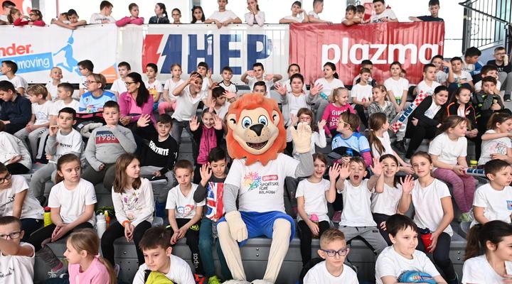 O Plazma Sportskim igrama mladih