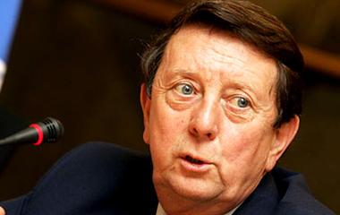 Dave Richards, predsjednik engleske Premier lige i počasni predsjednik Sportskih igara mladih