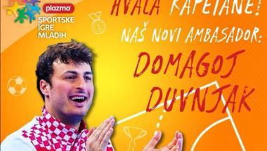 Domagoj Duvnjak novi ambasador Plazma Sportskih igara mladih