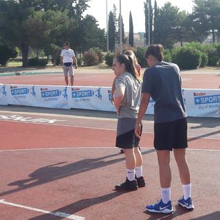 Kinder Sport turnir u uličnoj košarci - Velika Gorica