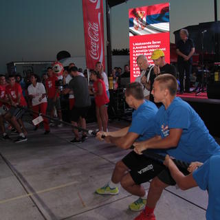 Svečano zatvaranje 22. Plazma Sportskih igara mladih, Split - Riva - dio #1