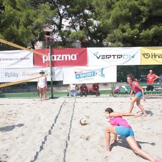 Veliko međunarodno finale 2018. Split - odbojka na pijesku