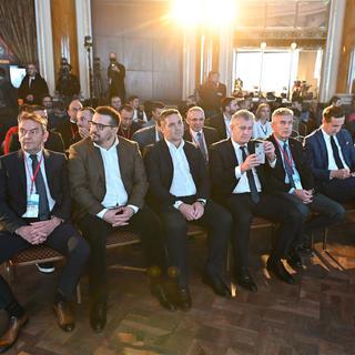 Proglašenje Aleksandera Čeferina, predsjednika UEFA, SIM ambasadorom