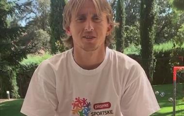 Luka Modrić, ambasador Sportskih igara mladih