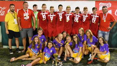Zagorje Boysi iz Zaboka međunarodni prvaci Coca- Cola Cup 2019.